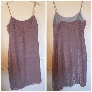 Dresses & Skirts - 90's spaghetti strap velveteen